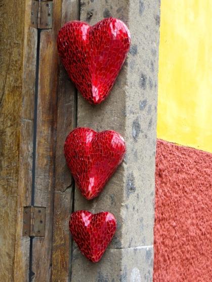 SMA Hearts on Door Frame