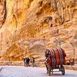 Horse Carriage through the Siq