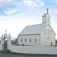 White Church-StokkseyrikirkjaIce - Version 2