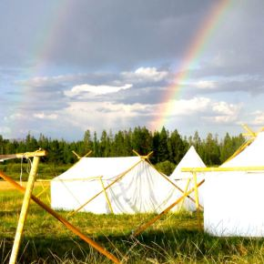 The Sun Shines Bright on the New Basecamp Gallivance