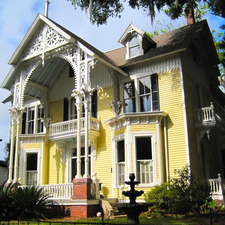 Yellow Victorian