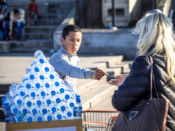 Istanbul Water Seller