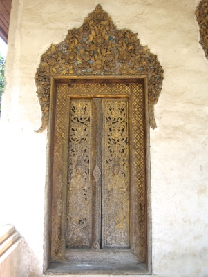 Old Temple Door