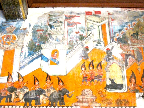 Old Temple Mural