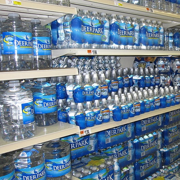 Supermarket Bottled Water