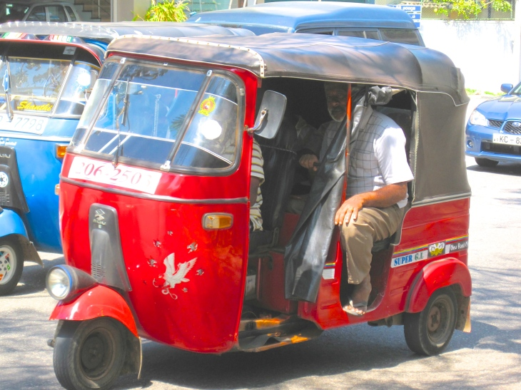 Tuk-Tuk in Colombo, Sri Lanka