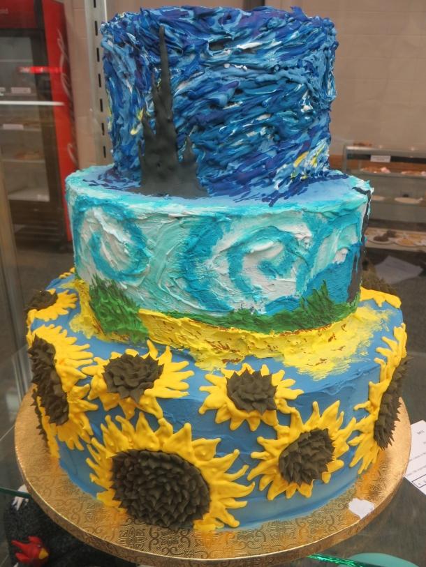 Van Gogh Cake