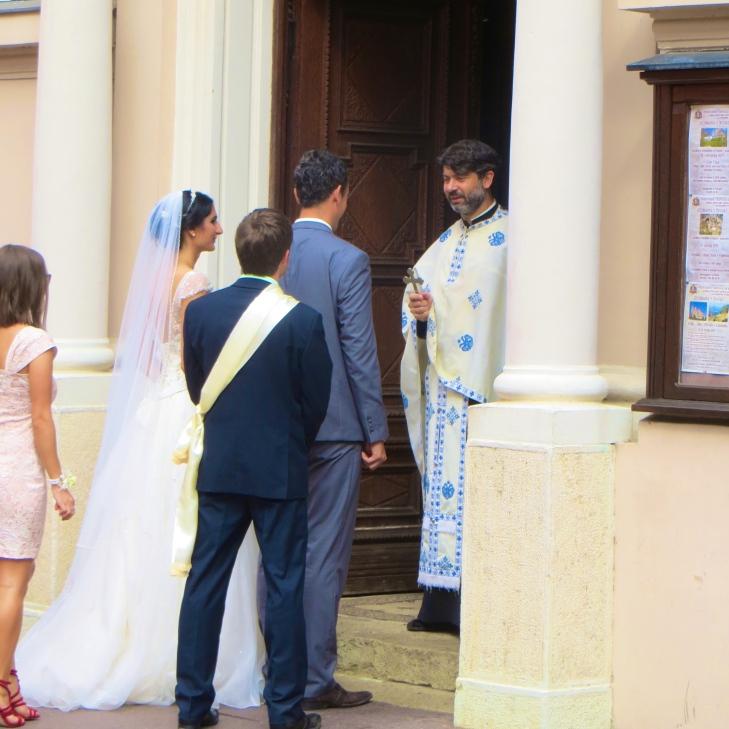 At the Door
