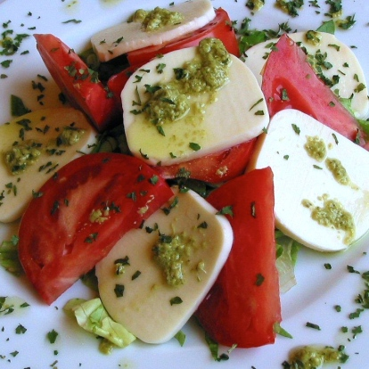 6. Caprese Salad from Montenegro