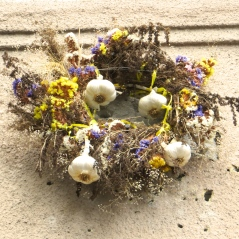 Garlic Wreath
