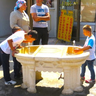 Kids at Fountain