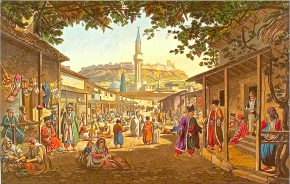 Skopje's Old Bazaar: Walk Across the River into Turkey