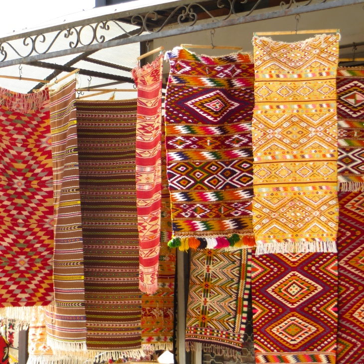 Rugs in Bazaar