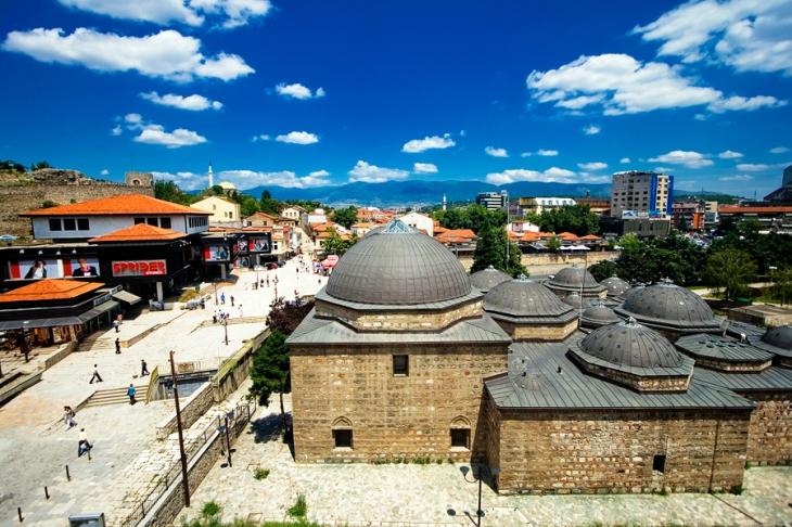Daut Pashin Haman in the Old Bazaar by Sanja Nikolic via Wikimedia Commons