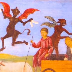 Fantastic Frescoes of Rila Monastery: The Devil's in the Details