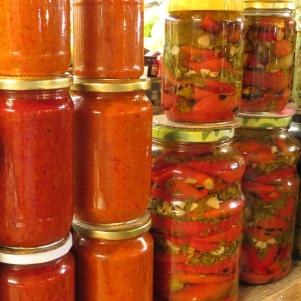 Pickled Vegetables, Skopje, Macedonia