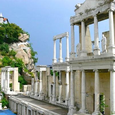 Plovdiv's Ancient Roman Theater