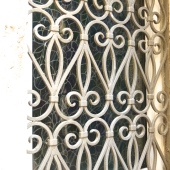 Heart Window Grate, Kotor, Montenegro