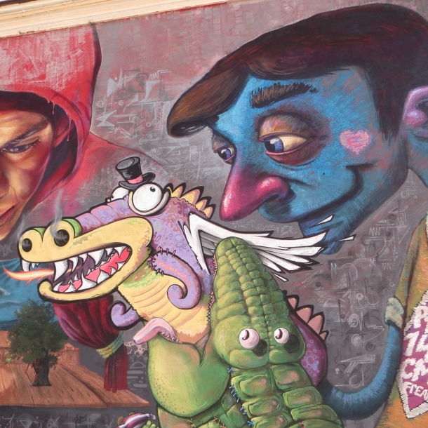 Street Art, Plovdiv, Bulgaria