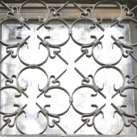 Heart Lattice Window, Sofia, Bulgaria