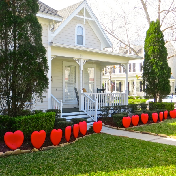 Heart Hedge, Celebration, Florida