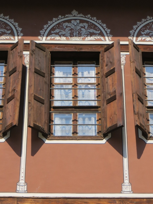 Rust House Windows