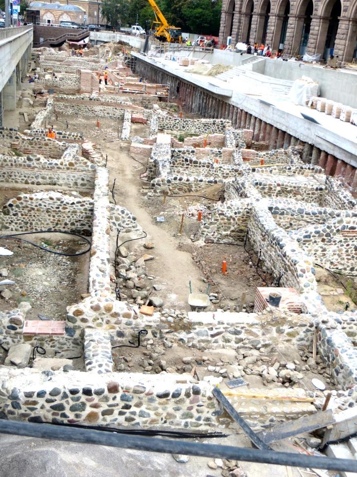 The ancient city of Serdica