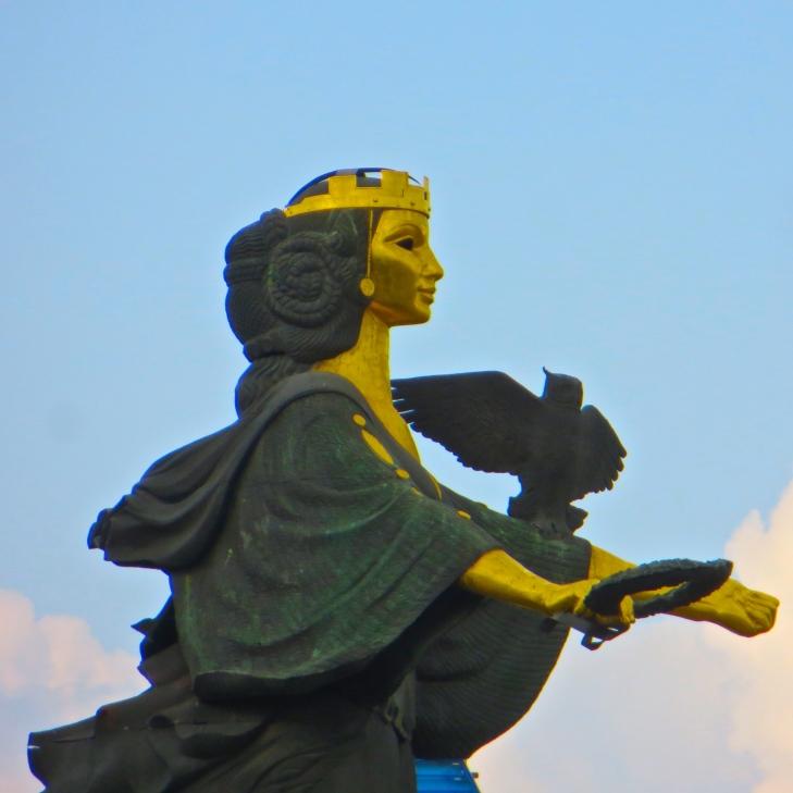 St. Sofia, the city's patron saint.