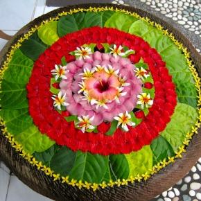 Bali's Exotic FlowerMandalas