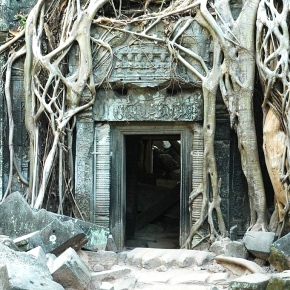Angkor's Ta Prohm: Made by Man, Unmade by Nature