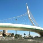Jerusalem Chords Bridge in Israel