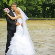A handsome Kiev couple ready to tie the knot.