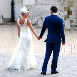 A Krakow couple ready to start a new life.