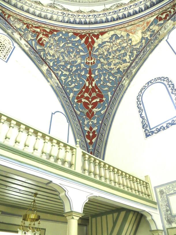 mustafa-pasha-mosque-ceiling-1-skopje-macedonia