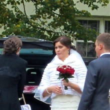 An elegant autumn wedding in Vilnius.