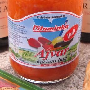 Ajvar: A Little Summer Sunshine in a WinterPantry