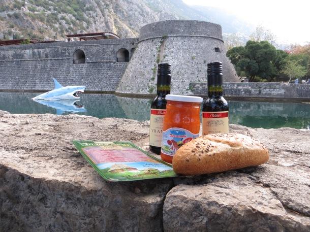 picnicking-in-kotor-montenegro