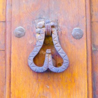 Door knocker, Segovia