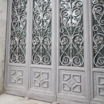 Madrid doorway