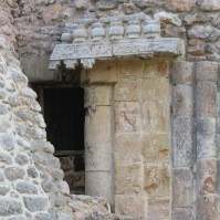 Palenque Doorway