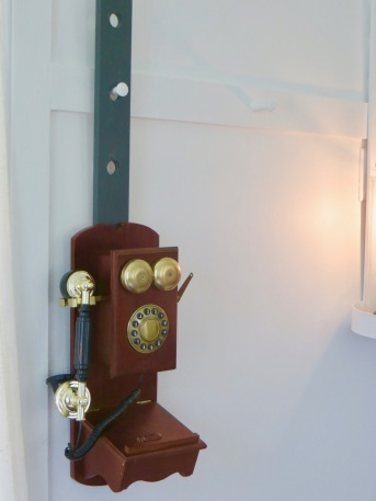 Shaker Village Telephone on Peg