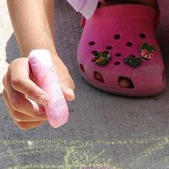 child with chalk 2