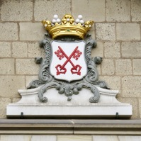 Coat of Arms in Delft, Netherlands