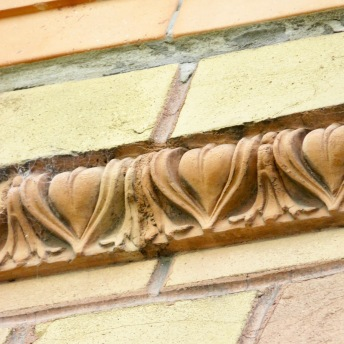 Facade detail in Vienna, Austria