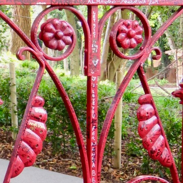The iron gate at Strawberry Field.